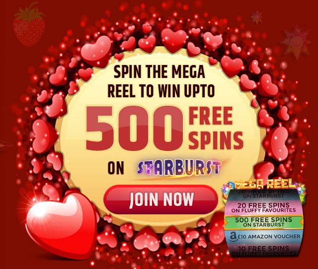 Win Up To 500 Free Spins At The Heart Of Casino